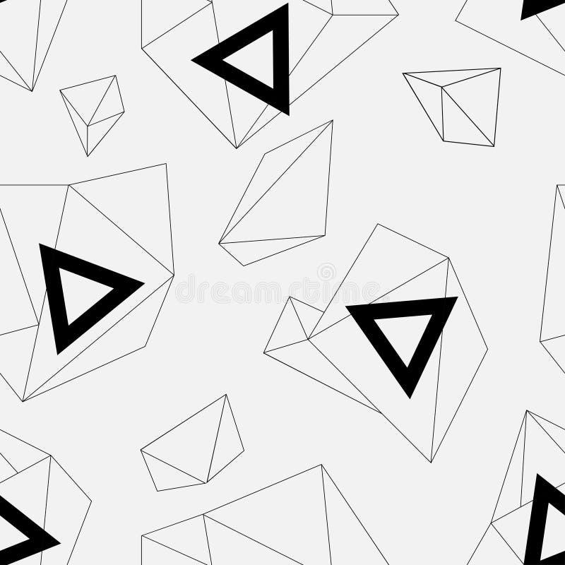 Vector il reticolo senza giunte struttura alla moda moderna Ripetizione delle mattonelle geometriche con il rombo punteggiato immagine stock libera da diritti