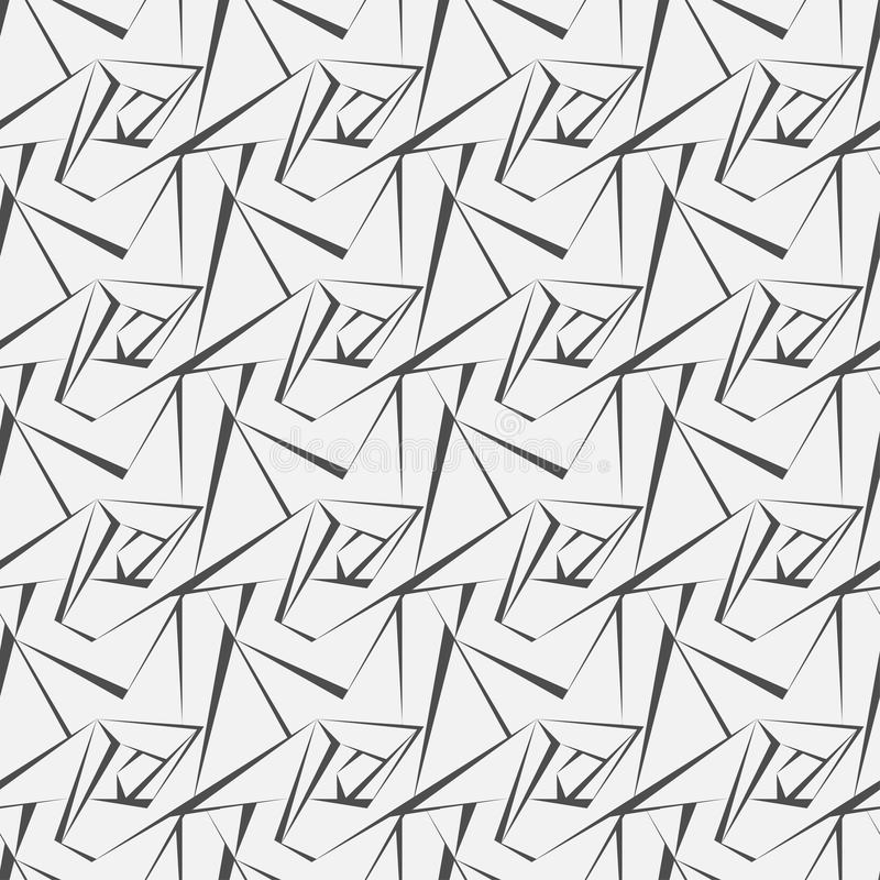 Vector il reticolo senza giunte struttura alla moda moderna Ripetizione delle mattonelle geometriche con il rombo punteggiato fotografia stock libera da diritti
