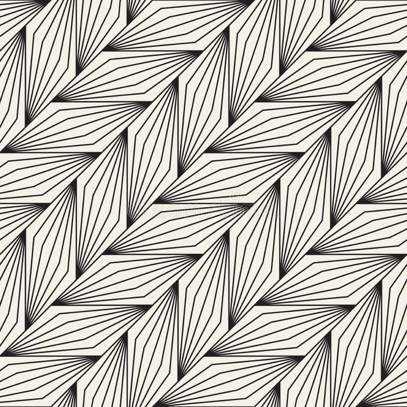 Vector il reticolo senza giunte Struttura astratta alla moda moderna Ripetizione delle mattonelle geometriche immagini stock