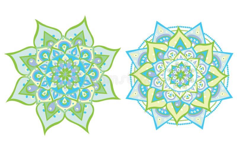 Vector illustrated mandala vector illustration