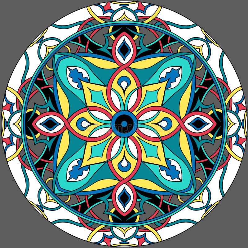 Vector illustratie abstract vectorachtergrond royalty-vrije stock afbeelding