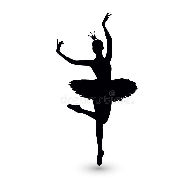 Vector illustratie Ballerinapictogram royalty-vrije illustratie