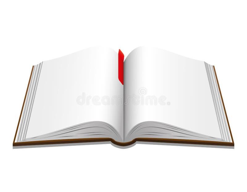 Vector illustratie Boek stock illustratie