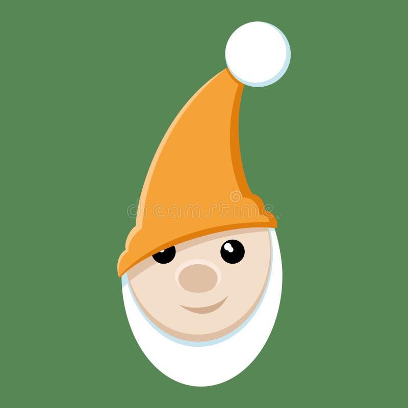 Vector illustratie gnome stock illustratie