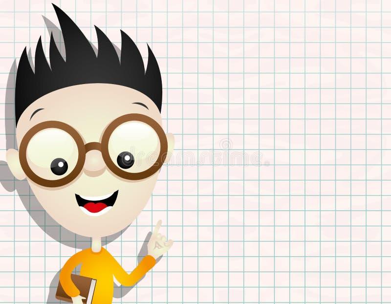 Vector illustratie Jongen stock illustratie