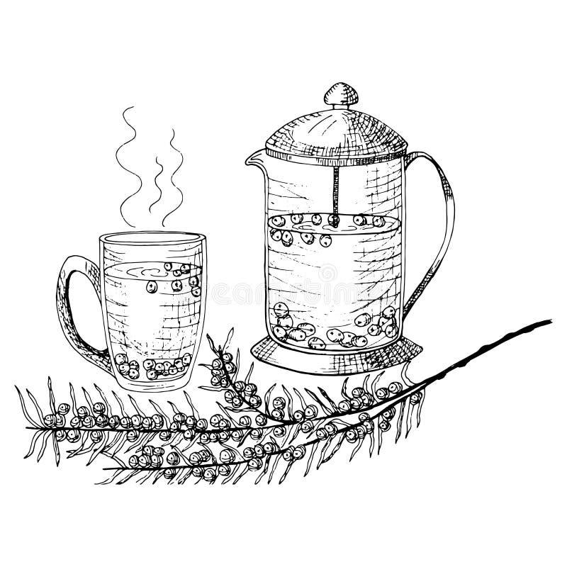 Vector illustratie  Lijnart. vector illustratie