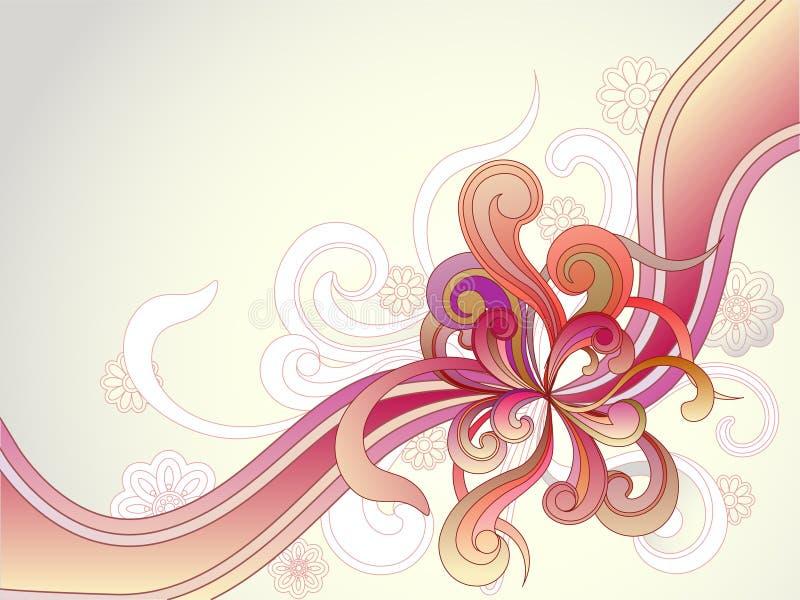 Vector illustratie van abstracte achtergrond stock illustratie