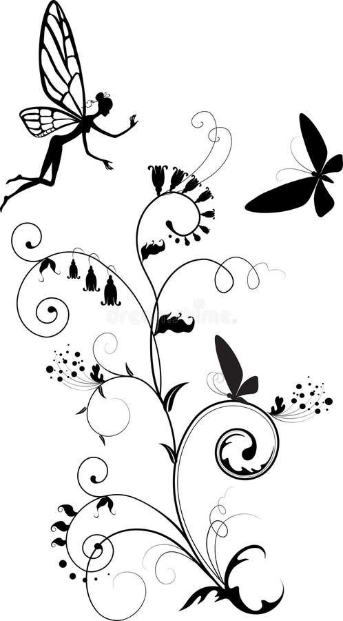 Vector illustratie van fee vector illustratie