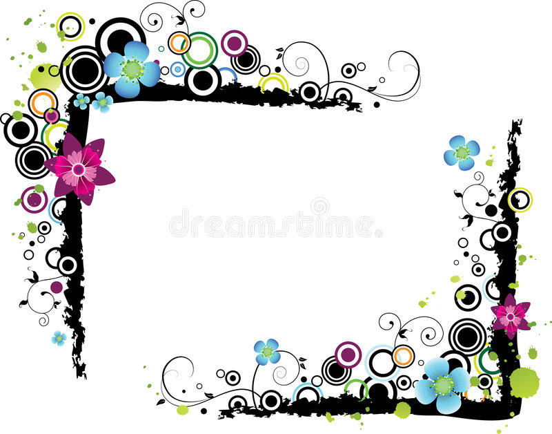 Vector illustratie van frame stock illustratie