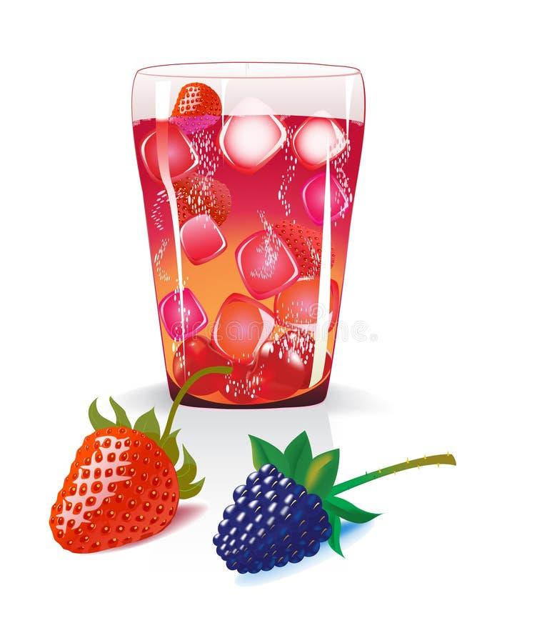 Vector illustratie van fruite stock illustratie