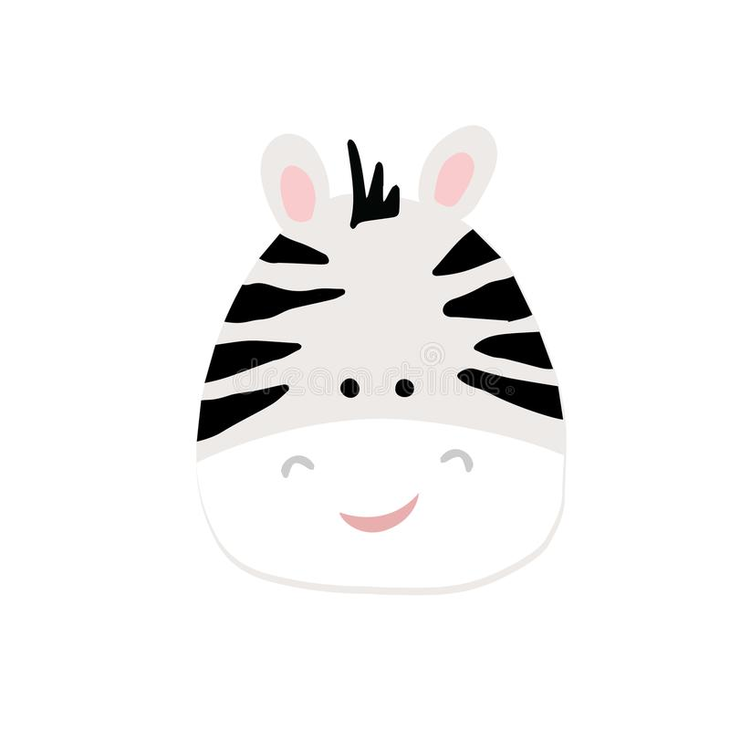 Vector illustratie van zebra? royalty-vrije illustratie