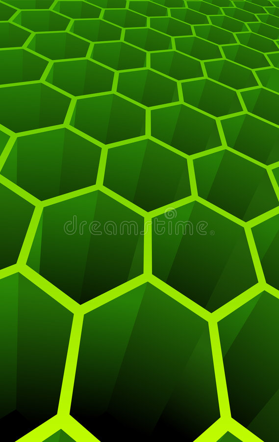 Vector illustration of 3d abstract cells vector illustration