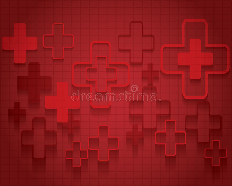 Vector illustration of abstract medical background . vector illustration
