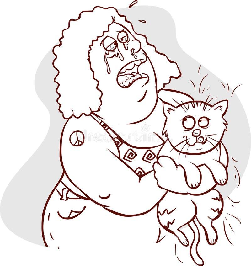 Animal allergy concept. vector illustration