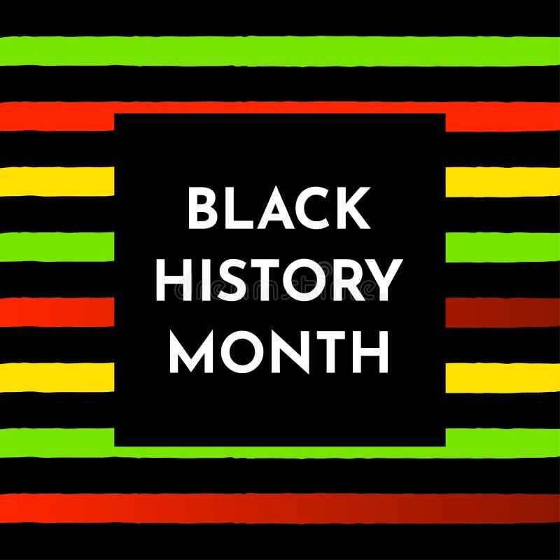 Vector Illustration Background Black History Month Stock Vector Illustration Of Label Pattern 138422404