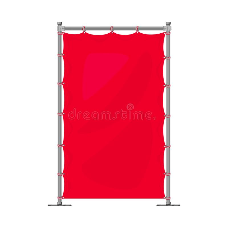 Vector illustration of banner and screen logo. Set of banner and wall stock vector illustration. Isolated object of banner and screen icon. Collection of banner vector illustration