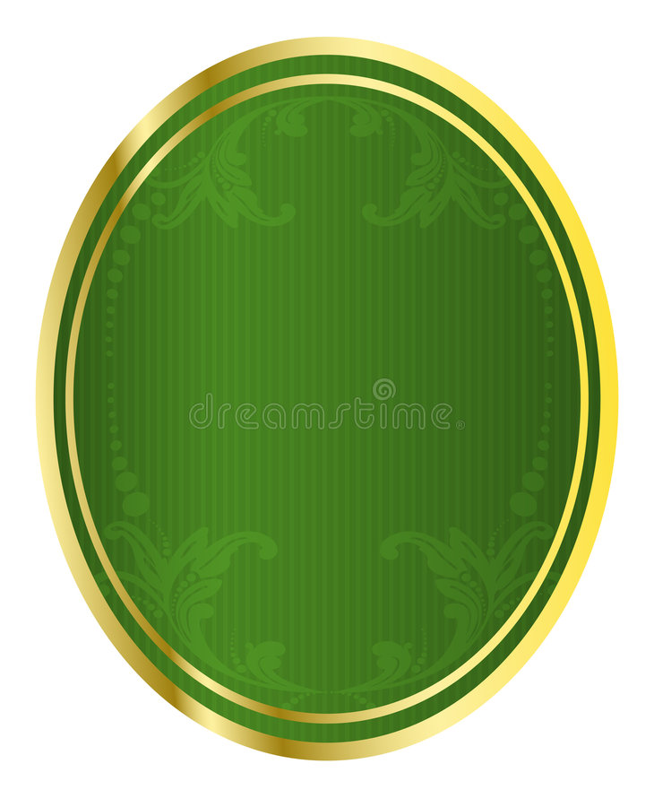 Vector Illustration Of A Beer Tag Royalty Free Stock Images