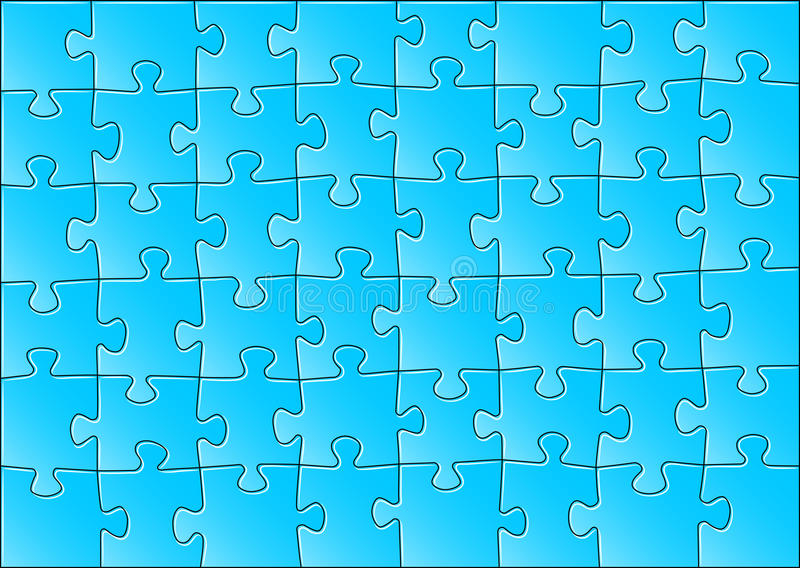 Download Jigsaw puzzle stock vector. Image of object, connect - 30132834