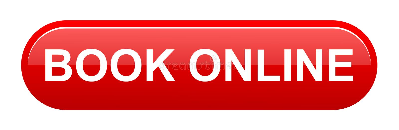 Book online button stock illustration
