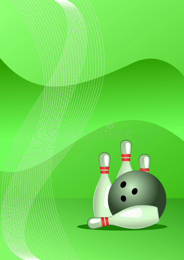 Download Vector Illustration Of Bowling Stock Vector - Image: 18899524