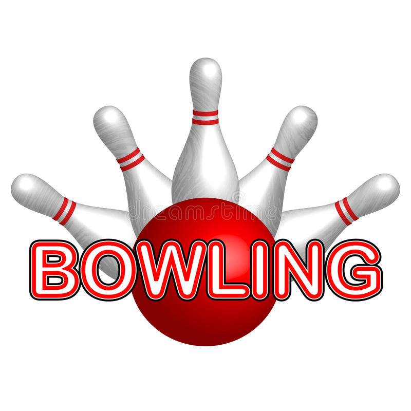 Download Bowling stock vector. Illustration of composite, leisure - 30136583