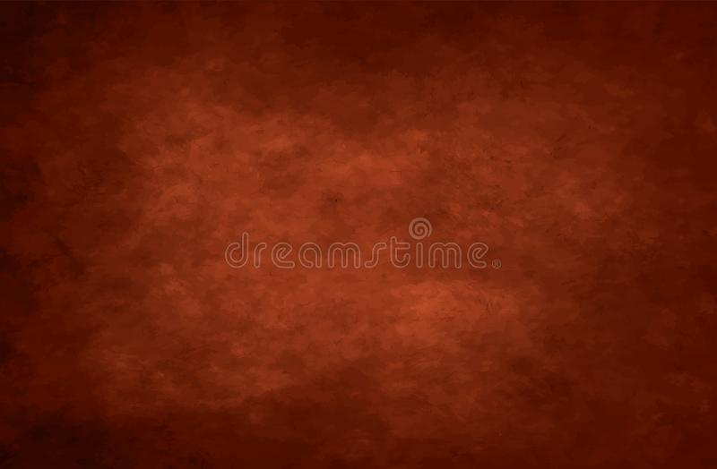 Brown cloudy grunge vector background stock image