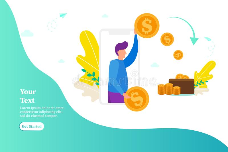 Man gives money, pays for work, concept of donations, giving money stock images