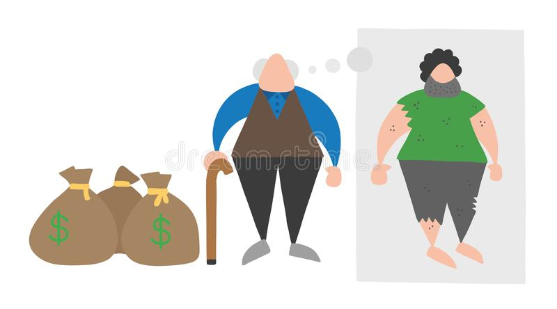 Rich Poor Cartoon Stock Illustrations – 629 Rich Poor