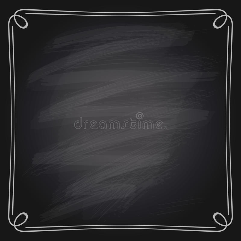 Download Vector Illustration Of Chalk Frame Stock