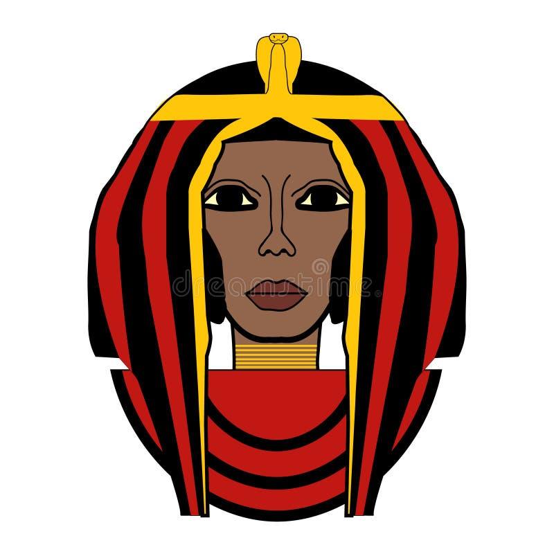 Vector illustration of Cleopatra royalty free stock photo