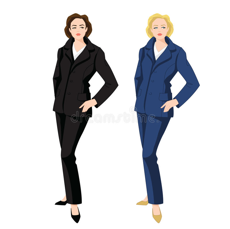 Vector Illustration Of Corporate Dress Code. Stock Vector ...