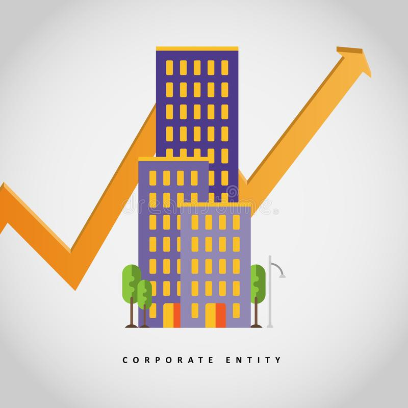 Corporate Entity royalty free stock images