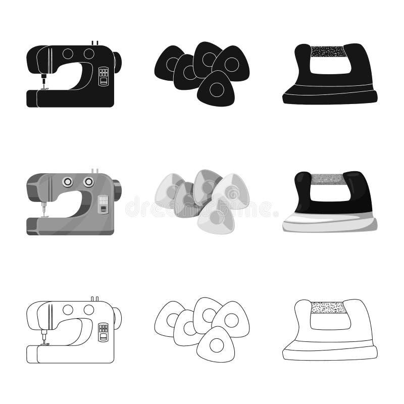 Vector illustration of craft and handcraft icon. Set of craft and industry vector icon for stock. Isolated object of craft and handcraft symbol. Collection of vector illustration