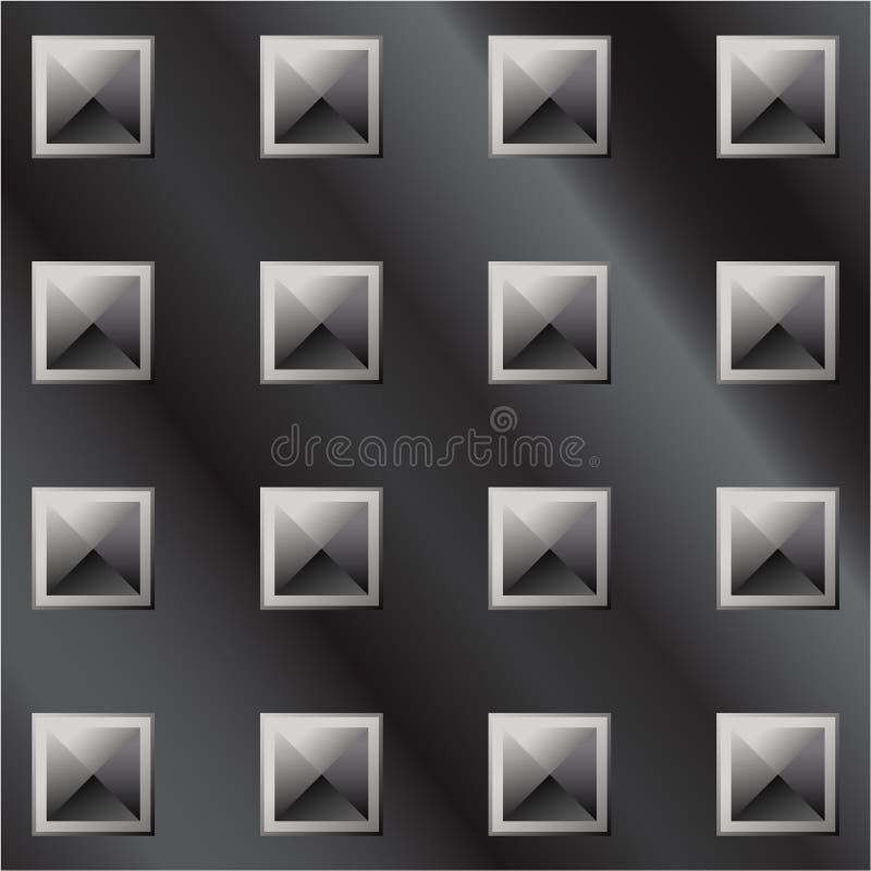 Download Vector Illustration Of Dark Metal Pyramid Tread Stock Vector - Illustration of dark, industry: 8530544