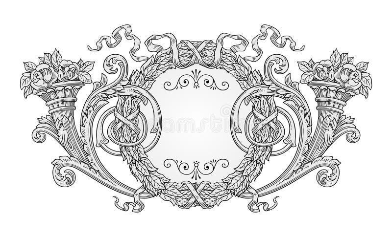 Download Decoration frame stock vector. Illustration of illustration - 30136240