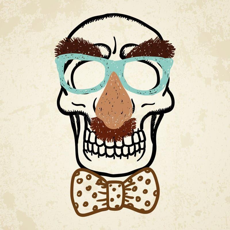 Download Vector Illustration Of Decorative Skull Stock Illustration - Illustration: 28660480