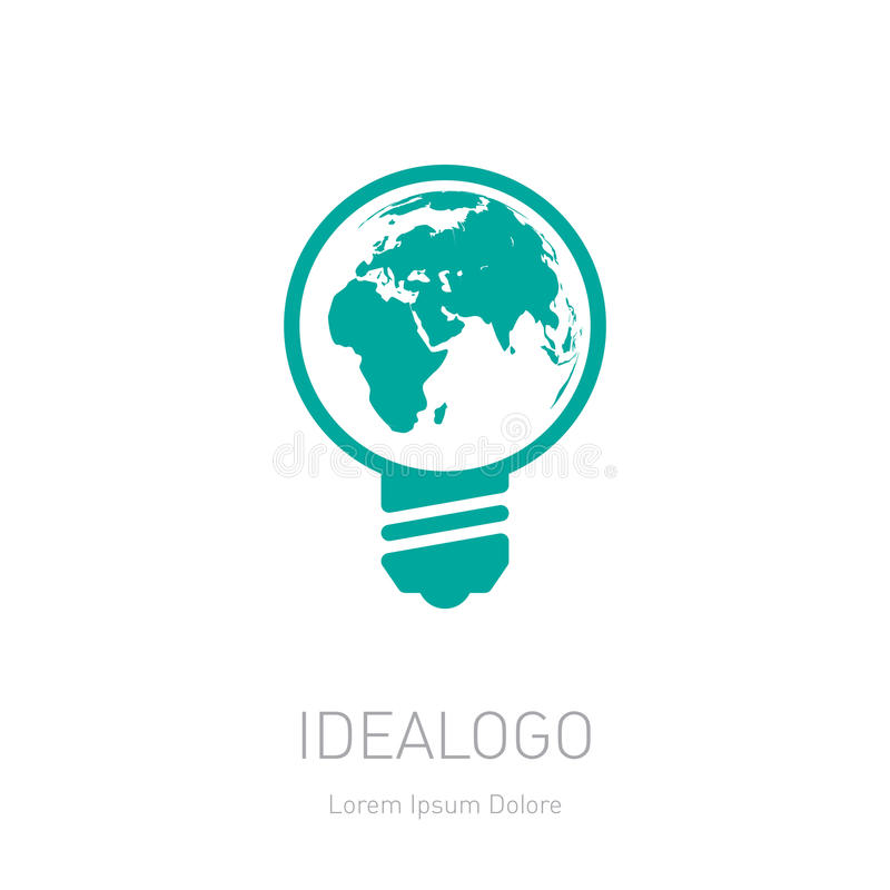 Vector Illustration of Earth Hour. Energy Save Concept, Eco Temp royalty free illustration