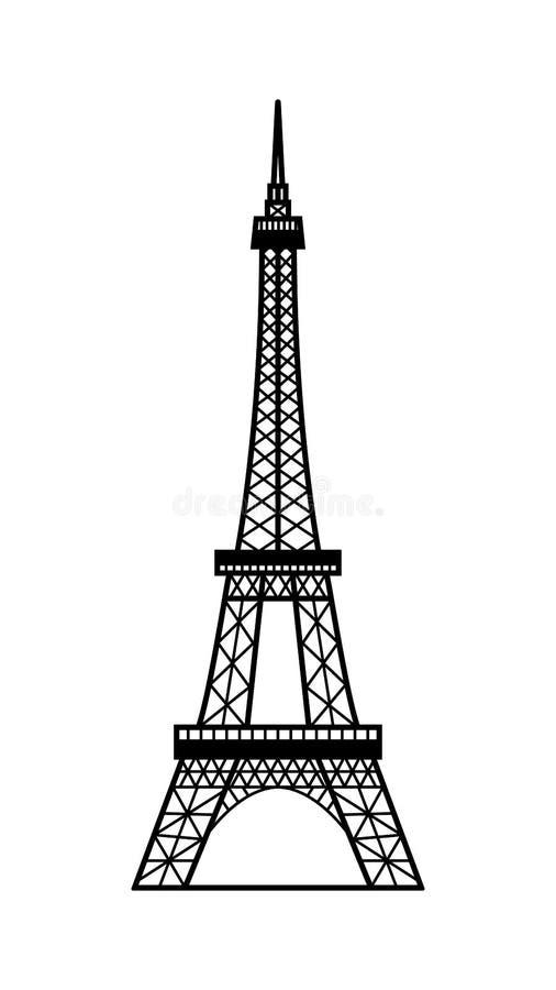 Eiffel Tower Paris France Black White Stock Illustrations 1 638 Eiffel Tower Paris France Black White Stock Illustrations Vectors Clipart Dreamstime