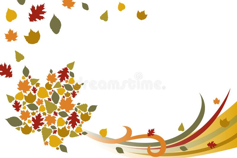 Fall Autumn Background Illustration. A vector illustration of Fall Autumn Background vector illustration