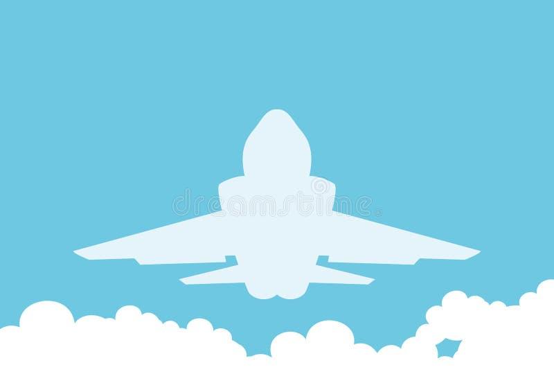 Vector illustration. Fighter. royalty free illustration