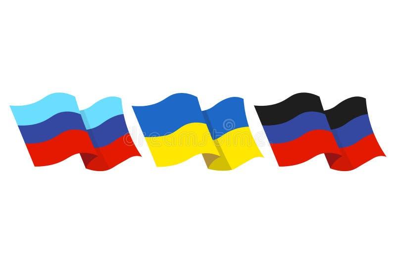 Contry flag illustrtion stock illustration