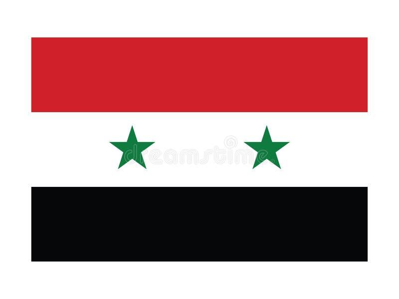 Flag of Syria vector illustration