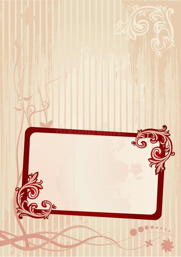 Vector illustration of a frame stock photos