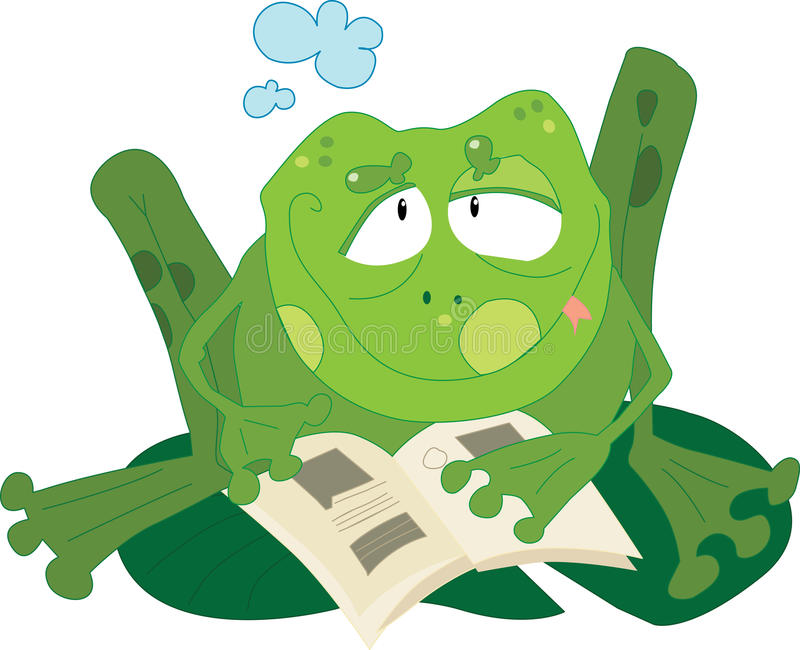 Download Frog stock vector. Image of read, toad, ecosystem, illustration - 29939294