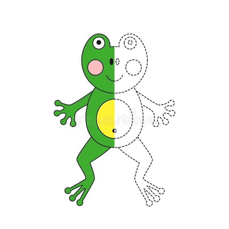Simple Frog Stock Illustrations 1368 Simple Frog Stock