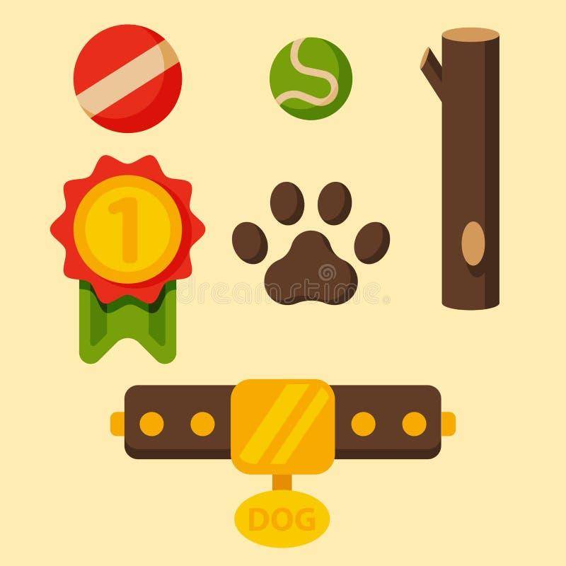 Vector illustration funny thoroughbred german shepherd dog attentive happy pet pedigree canine accessory. Vector illustration funny thoroughbred german shepherd stock illustration