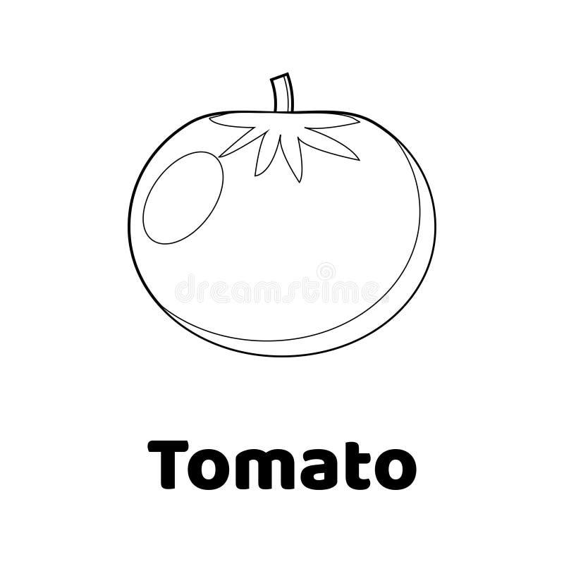 Vector Illustration. Game For Children. Vegetable. Coloring Page ...