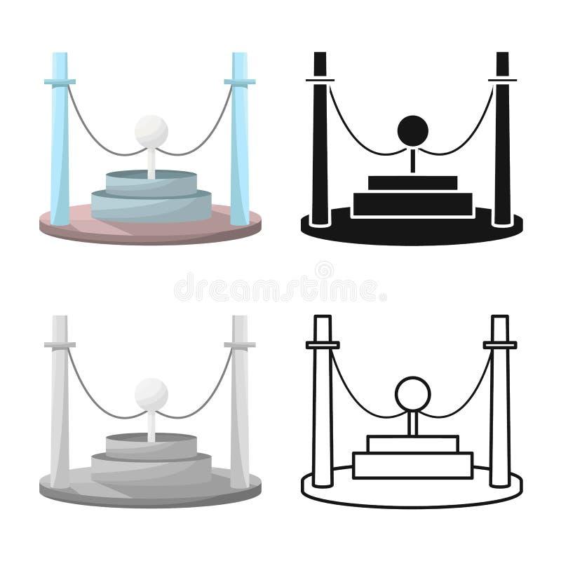 Vector design of generator and energy sign. Collection of generator and discharge vector icon for stock. Vector illustration of generator and energy logo. Set stock illustration