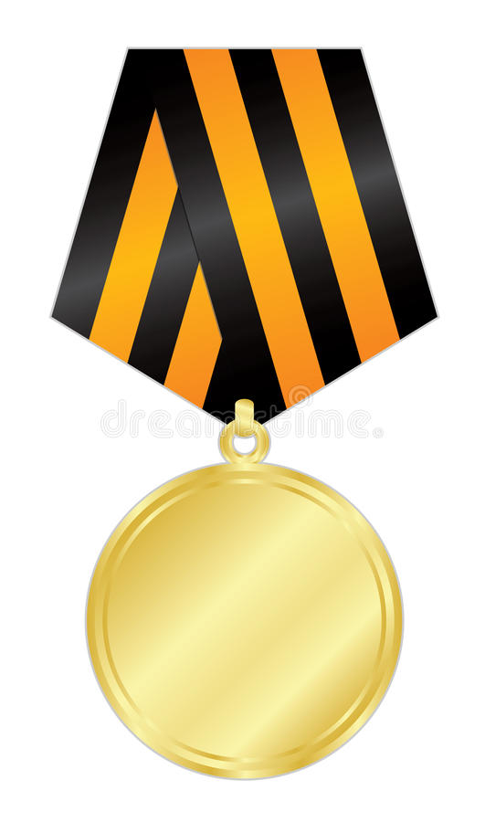Download Gold medal stock vector. Image of honours, award, power - 30137045
