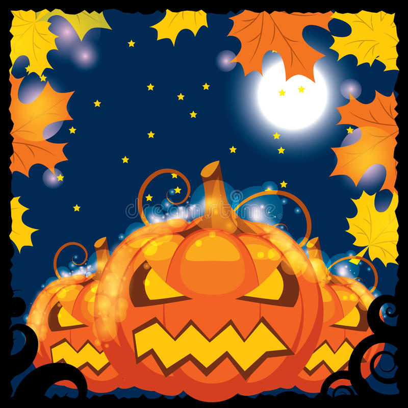 Vector illustration of halloween banners stock illustration